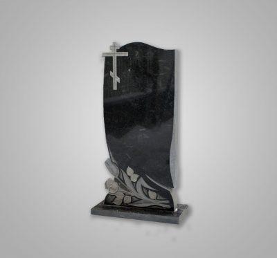 Памятник «Розы внизу/крест»
