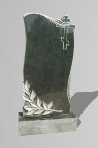 Памятник «Лавр/крест/драпировка»